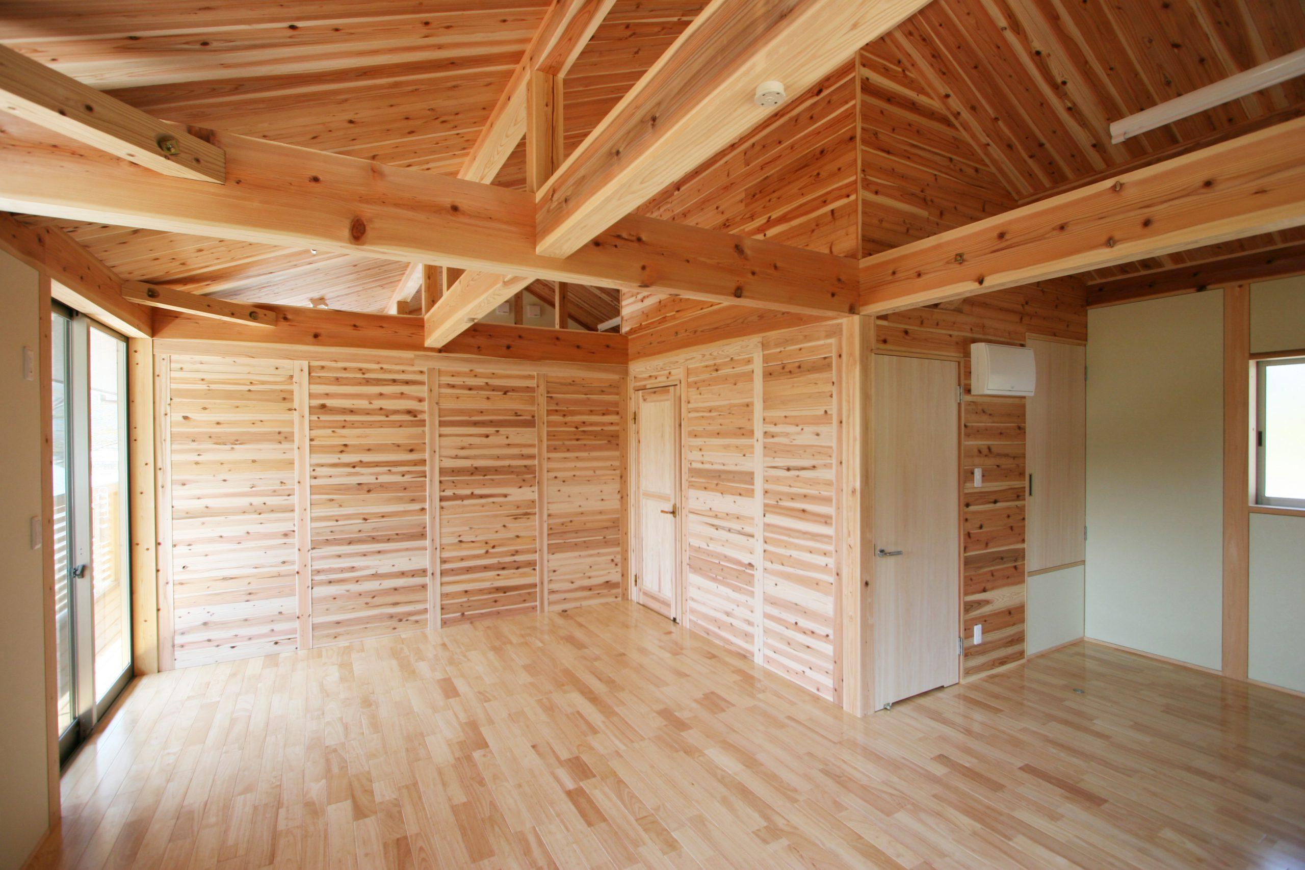 DIY可動間仕切の住宅