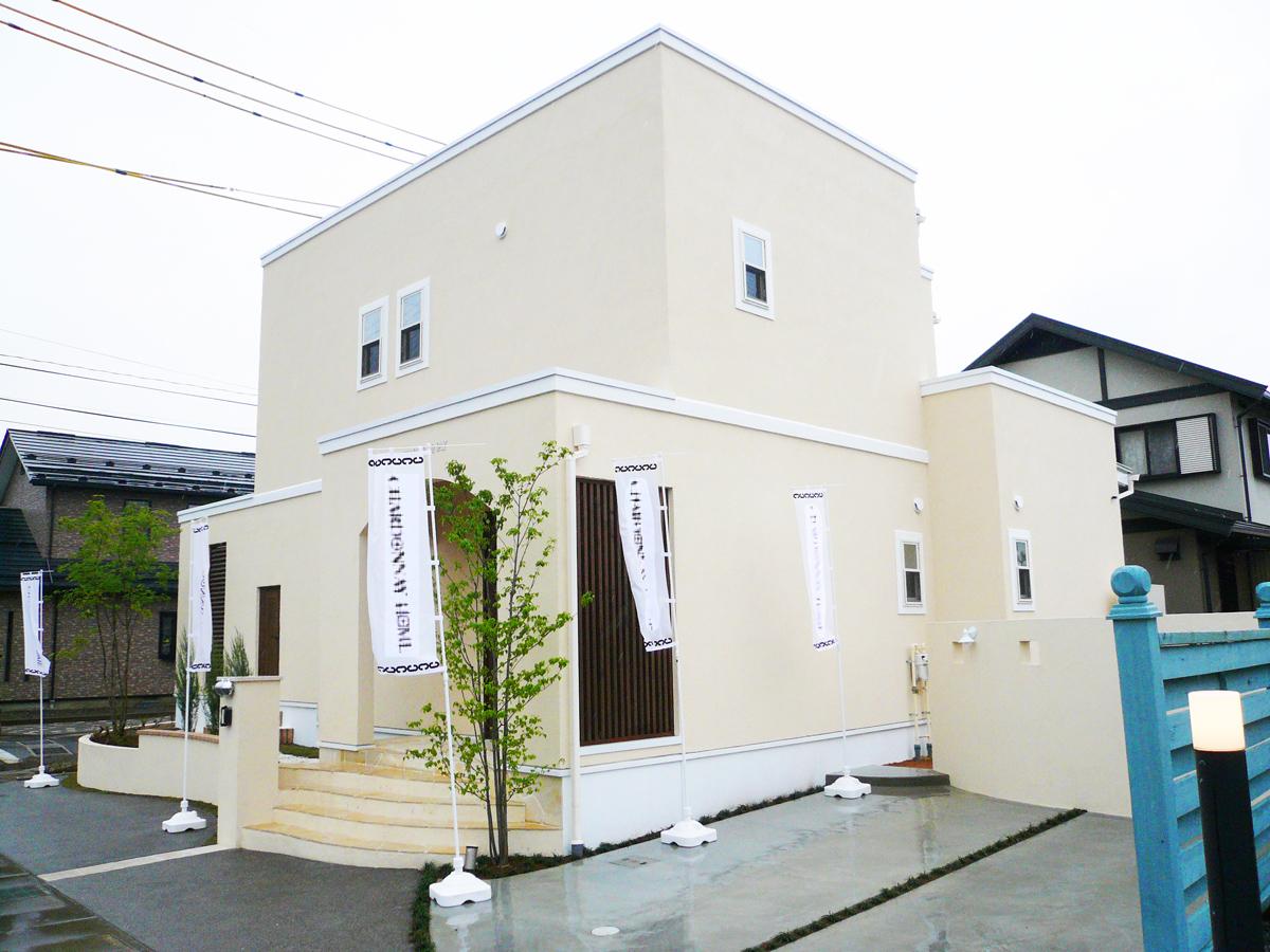 松本のモデルハウス